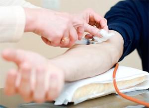 Кровь на биохимию берут из вены