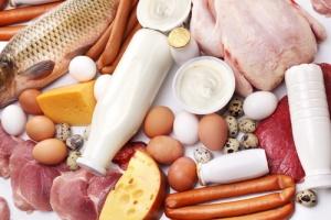 Продукты, богатые белком животного происхождения