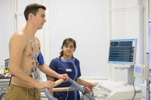 Электрокардиография сердца с нагрузкой