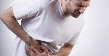 Увеличение правой доли печени - признак гепатомегалии
