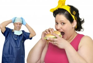 Рукавная резекция желудка назначается при ожирении