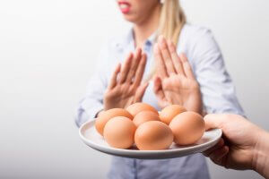 Аллергия на яичный белок что нельзя есть