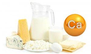 Молочные продукты – основной источник кальция