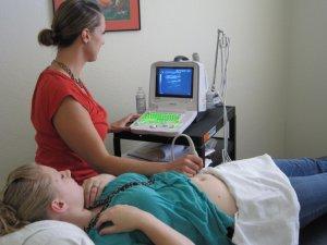 Процедура обследования органов малого таза с помощью УЗИ