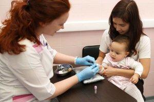 Забор крови для исследования уровня глюкозы