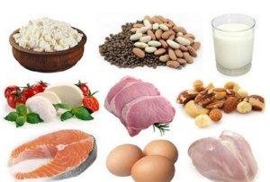 Повышаем уровень общего белка полезными продуктами