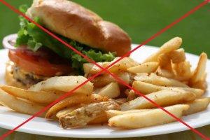 Исключаем из меню вредные продукты