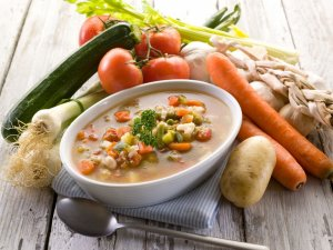 Рацион питания зависит от степени и сложности заболевания