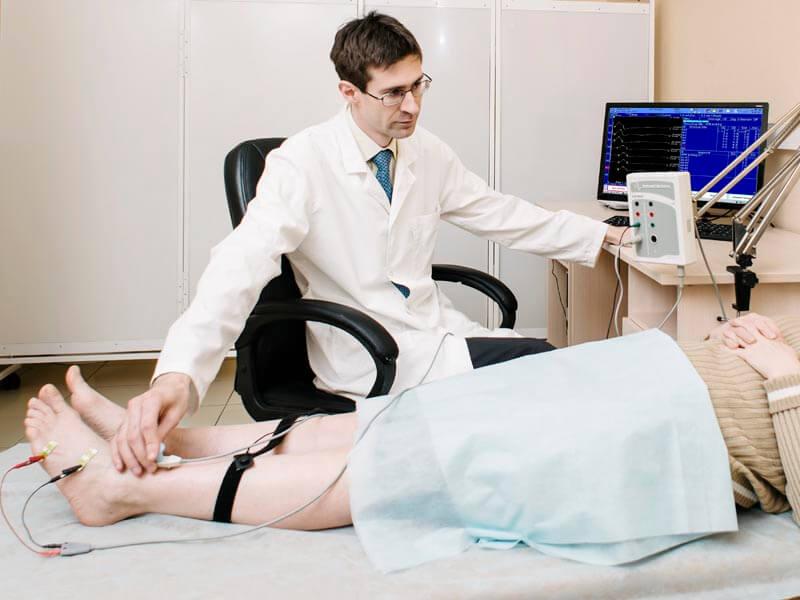 ЭМГ нижних конечностей: все о диагностике