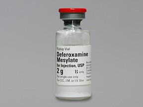 Дефероксамин и гемохроматоз