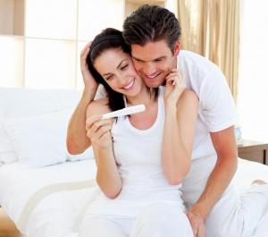 Подтверждение беременности с помощью теста