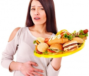 Одна из основных причины ГЭРБ - неправильное питание