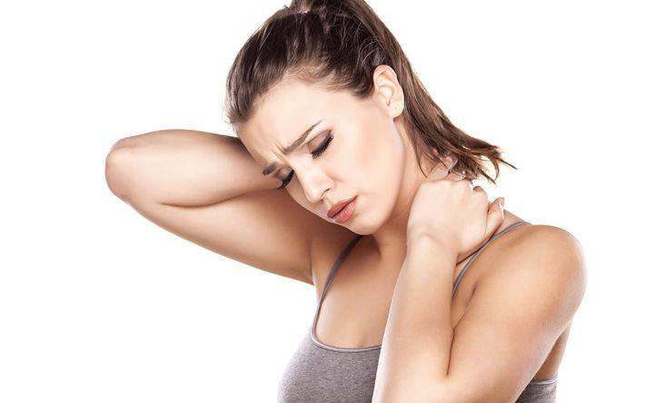 Боль в шее с левой стороны: причины и лечение