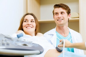 Процедура УЗИ во время беременности