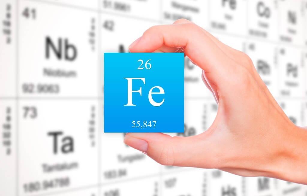 Содержание железа в продуктах питания растительного и животного происхождения