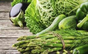 В овощах зеленого цвета содержатся минимальное количество глюкозы