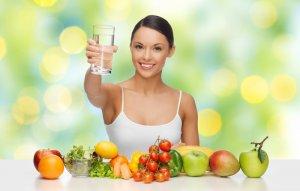 Важно соблюдать питьевой режим и придерживать правильного диетического питания