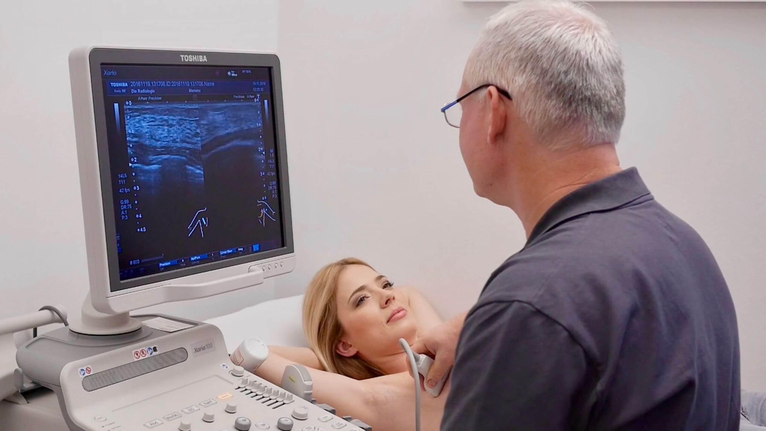 Подготовка, процедура и расшифровка УЗИ молочных желез