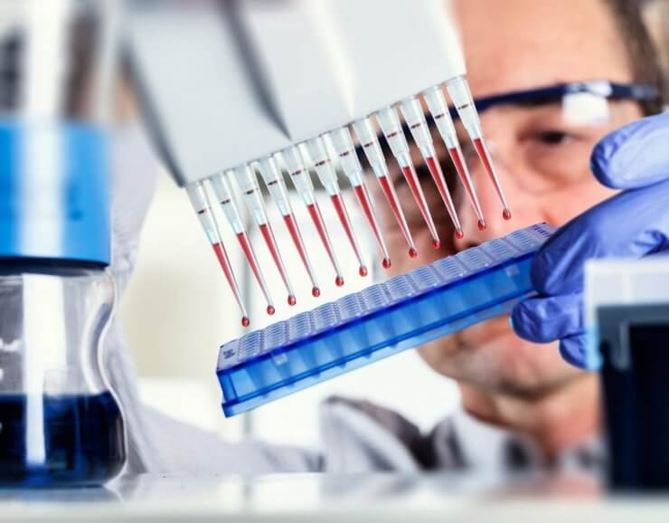 Показатели крови у вич инфицированных