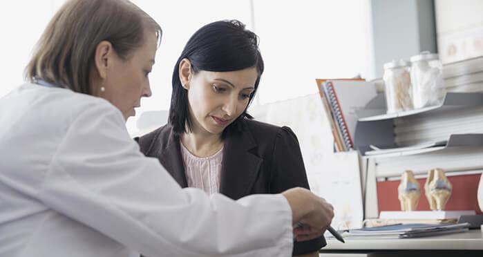 Диагноз рака яичников